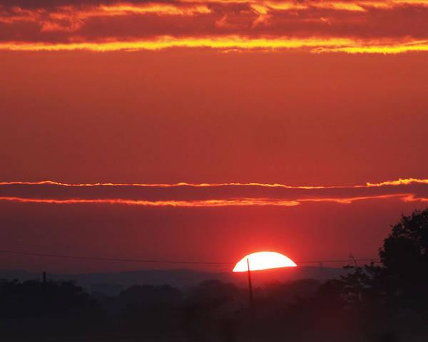 Wall Art - Photograph - Sun Set  by Brendan  Gleeson