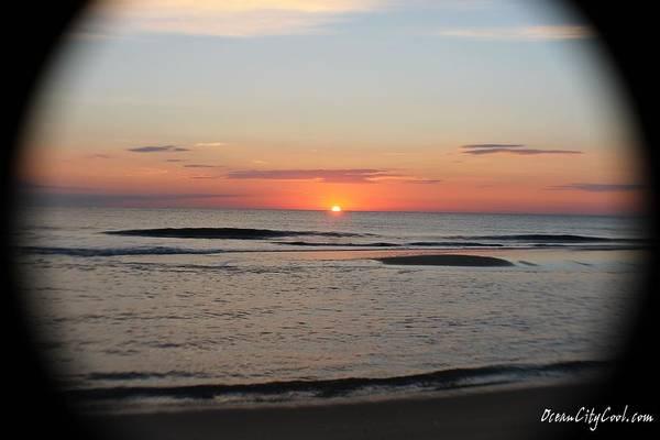Photograph - Sun Sits On The Horizon by Robert Banach