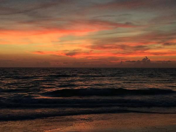 Photograph - Sun Streak Sky by Nicki La Rosa