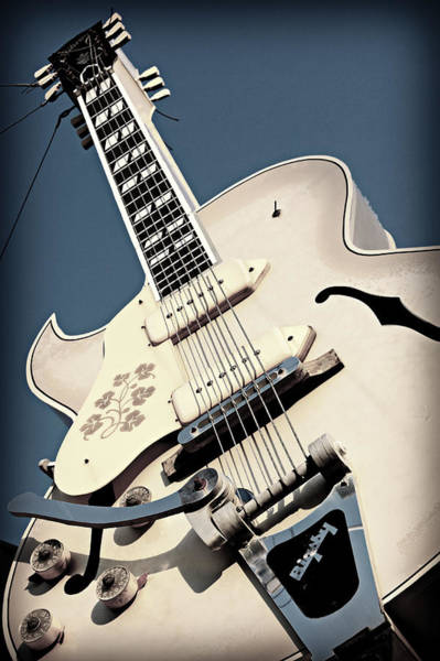 Wall Art - Photograph - Sun Studio Gibson Bigsby by Stephen Stookey
