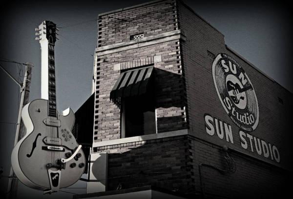 Elvis Photograph - Sun Studio - Memphis by Stephen Stookey