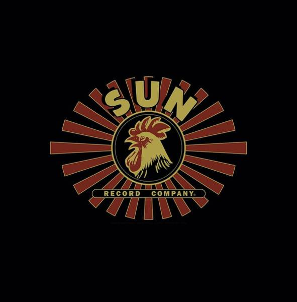 Wall Art - Digital Art - Sun - Sun Ray Rooster by Brand A