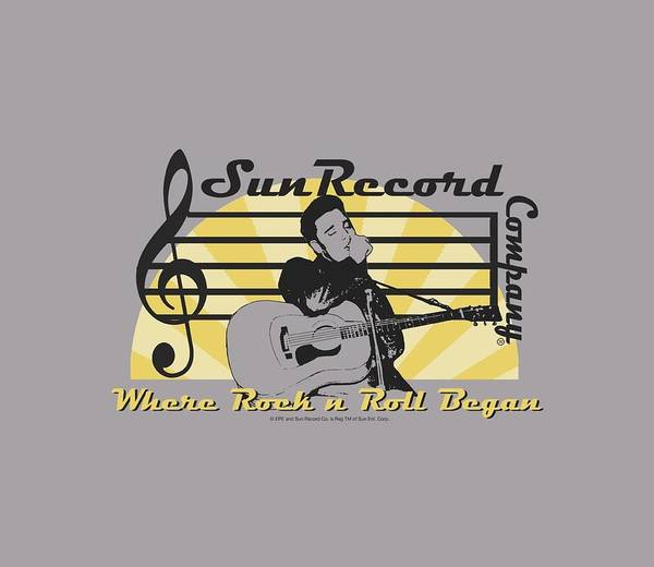 Wall Art - Digital Art - Sun - Sun Record Company by Brand A