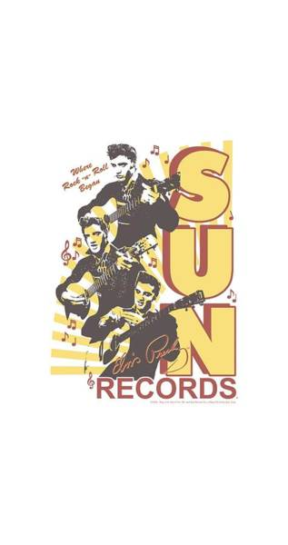 Wall Art - Digital Art - Sun - Tri Elvis by Brand A