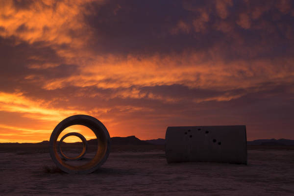 Photograph - Sun Tunnel Sunset by Dustin  LeFevre