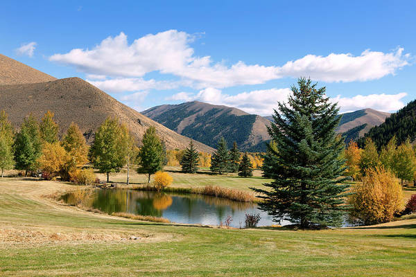 Season Photograph - Sun Valley Resort, Idaho by Kingwu