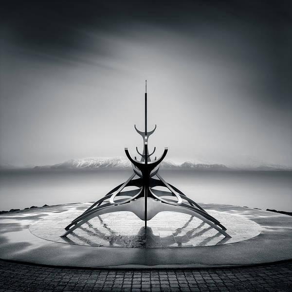 Reykjavik Photograph - Sun Voyager by Dave Bowman