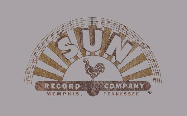 Wall Art - Digital Art - Sun - Worn Logo by Brand A