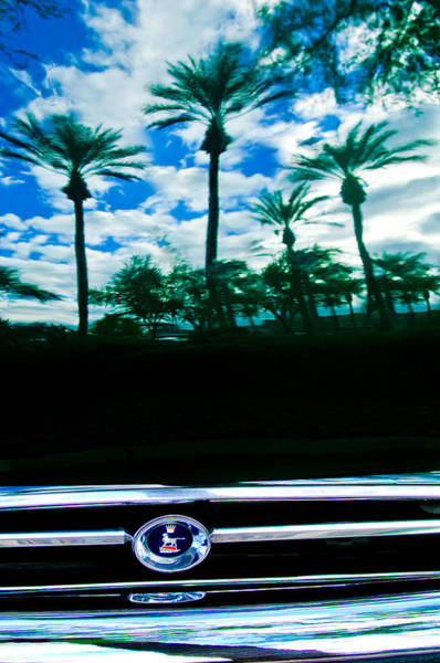 Photograph - Sunbeam Tiger Grille Emblem by Jill Reger