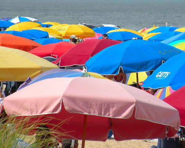 Bemis Photograph - Sunbrellas by Kim Bemis