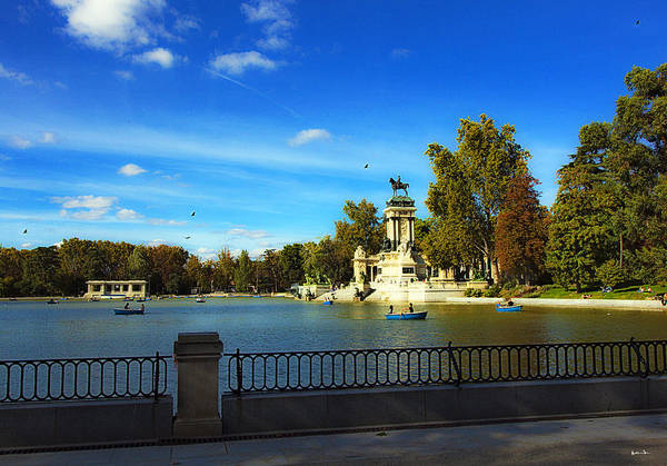 Wall Art - Photograph - Sunday At Retiro Park - Madrid - Spain by Madeline Ellis