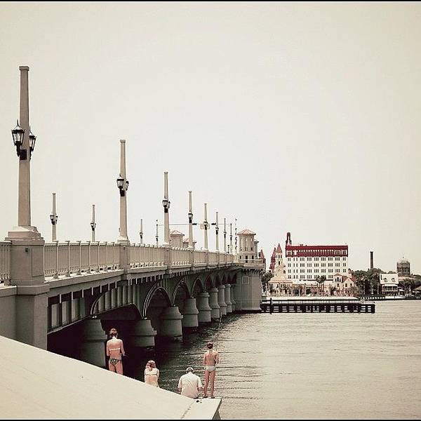 Iger Wall Art - Photograph - Sunday By The Bridge - Fl by Joel Lopez