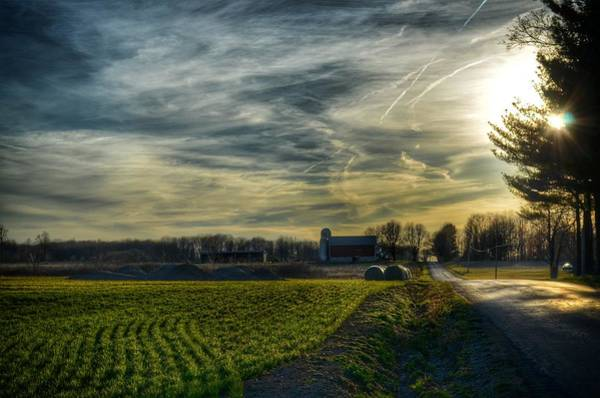 Pennsylvania Barn Photograph - Sunday Drive by Maria Firkaly