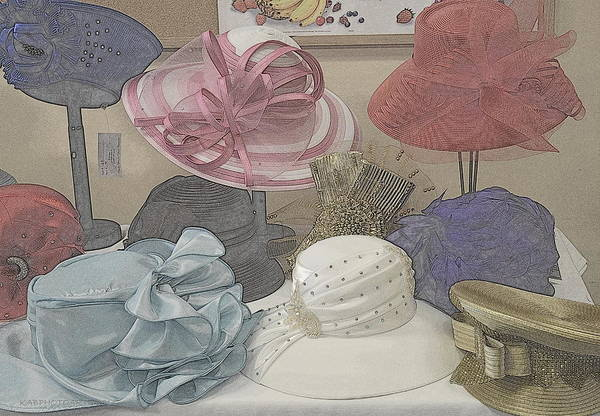 Millinery Photograph - Sunday Hats For Sale by Kathy Barney