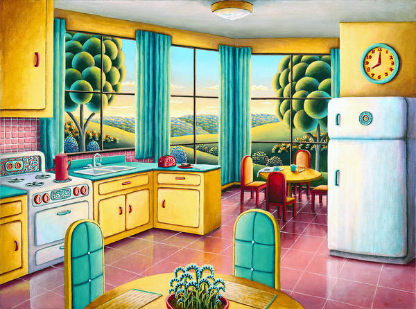 Sink Painting - Sunday Morning by MGL Meiklejohn Graphics Licensing