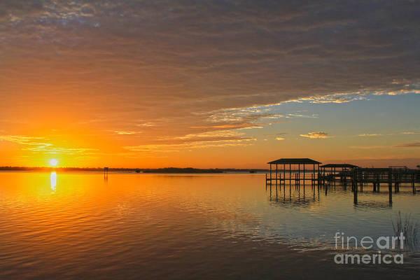 Photograph - Sunday Morning Glow by Deborah Benoit