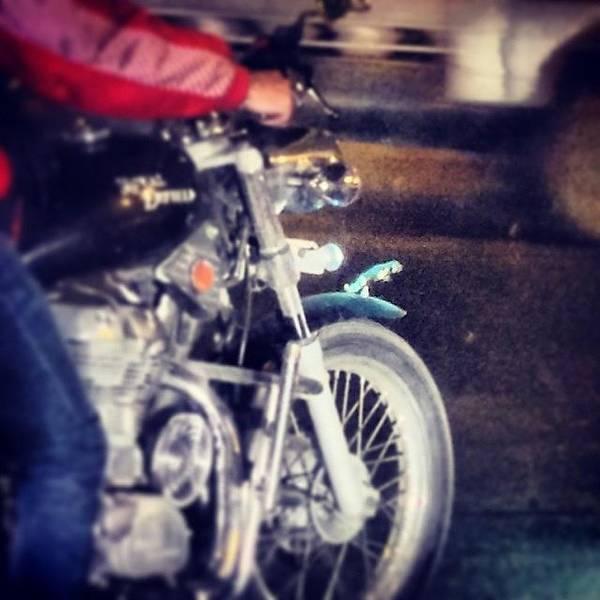Jaguar Photograph - Sundays Are For Riding My Jaguar! #bike by Vikram Singh