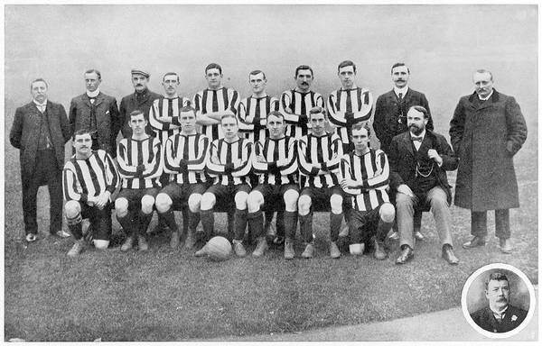 Sunderland Wall Art - Photograph - Sunderland Football Club by Mary Evans Picture Library