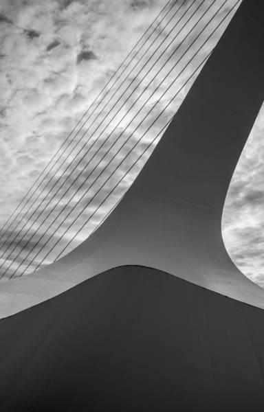 Photograph - Sundial Bridge Abstract by Loree Johnson