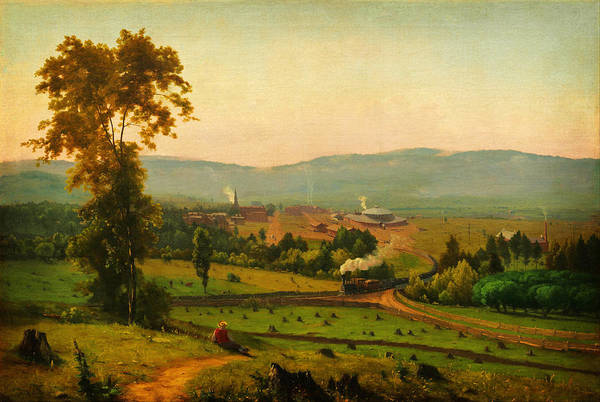 Painting - The Lackawanna Valley by Celestial Images