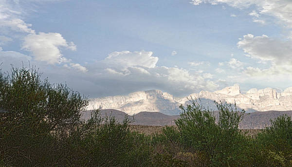 Photograph - Sundown In Big Bend by Judy Hall-Folde