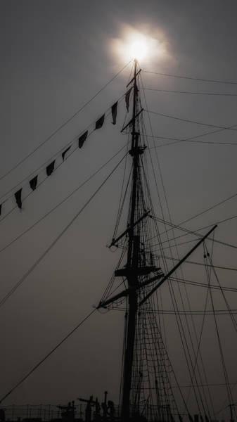 Mast Photograph - Sundown by Nigel Jones