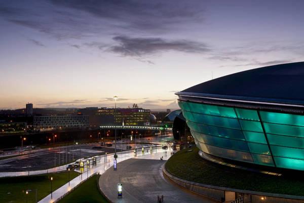 Photograph - Sundown Over Glasgow by Stephen Taylor