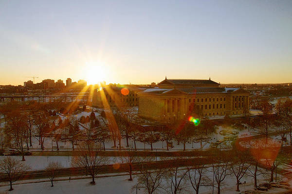 Photograph - Sunflare At The Museum by Alice Gipson