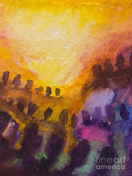 Painting - Sunflow by Lutz Baar