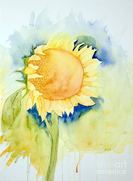 Painting - Sunflower 1 by Laurel Best