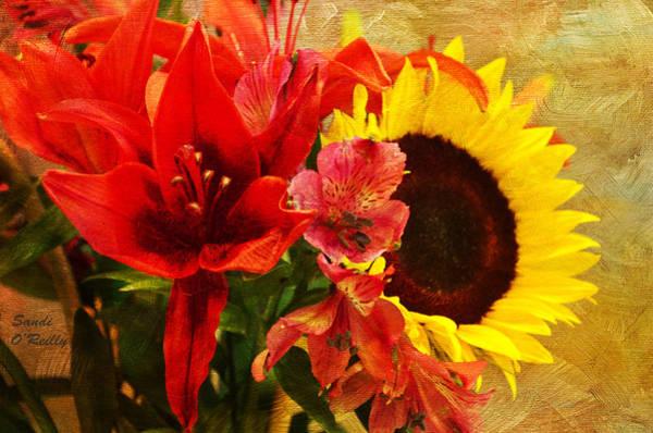 Wall Art - Photograph - Sunflower Bouquet by Sandi OReilly