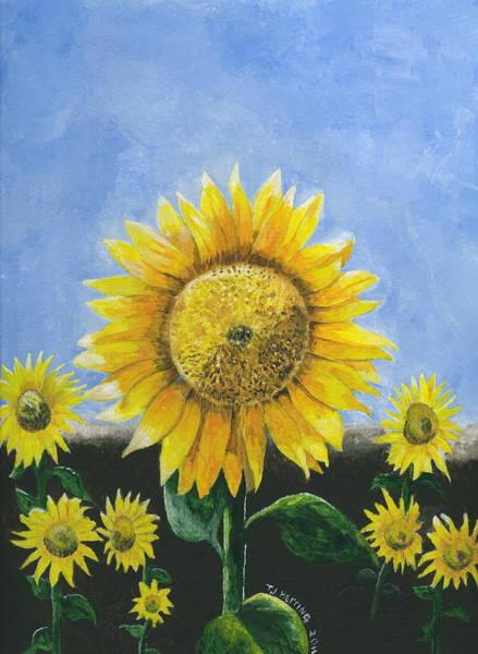 Sunflower Series One Art Print