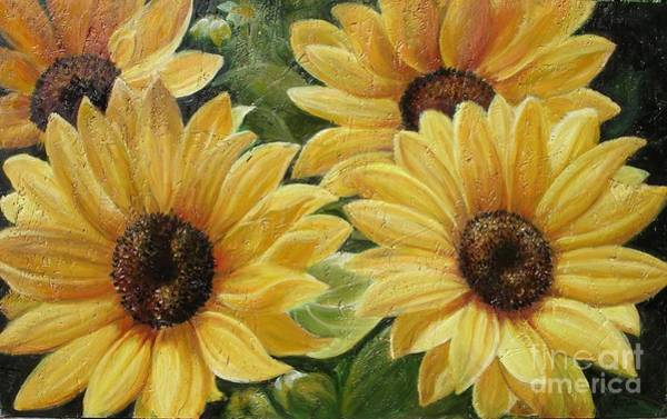 Painting - Sunflower by Sorin Apostolescu