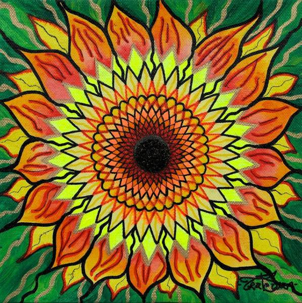 T Shirts Painting - Sunflower by Teal Eye Print Store
