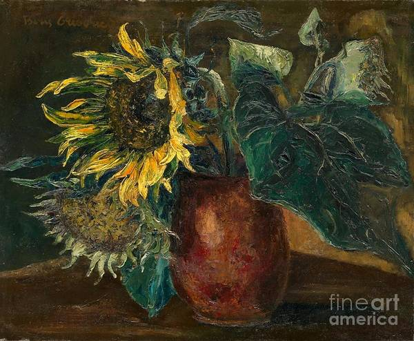 Painting - Sunflowers by Celestial Images