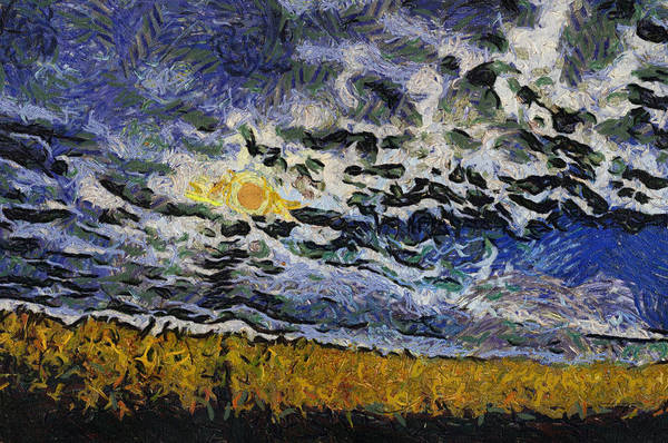 Wall Art - Photograph - Sunhine In The Storm Clouds Photo Art 04 by Thomas Woolworth