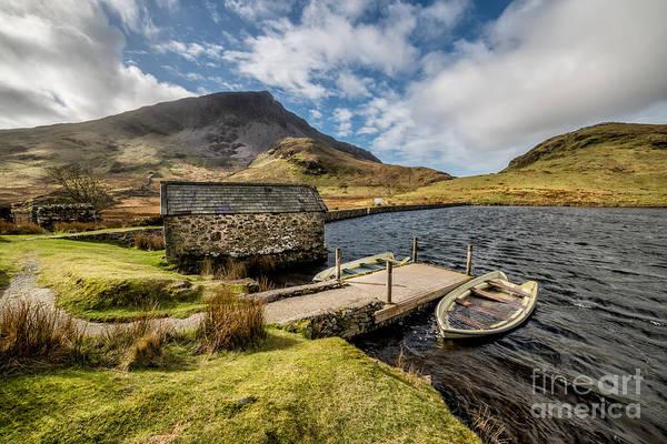 Moor Photograph - Sunken Boats by Adrian Evans