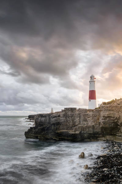 Wall Art - Photograph - Sunkissed Portland Lighthouse by Chris Frost