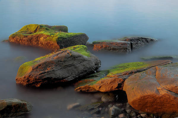 Photograph - Sunkissed Rocks by Jacqui Boonstra