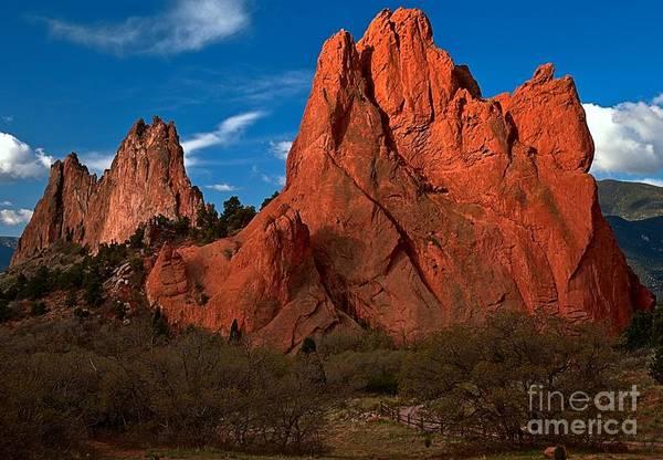 Photograph - Sunkist Peaks by Adam Jewell