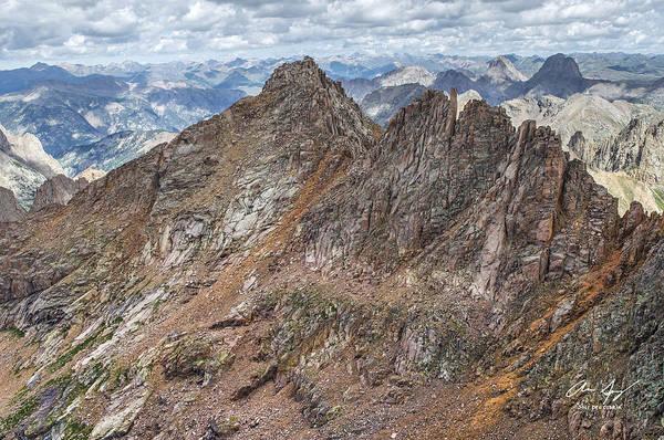 14er Photograph - Sunlight Peak From Windom by Aaron Spong
