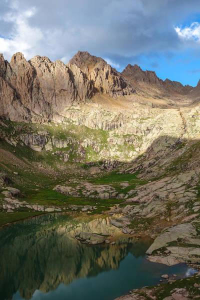 Fourteener Photograph - Sunlight Peak Reflection by Aaron Spong