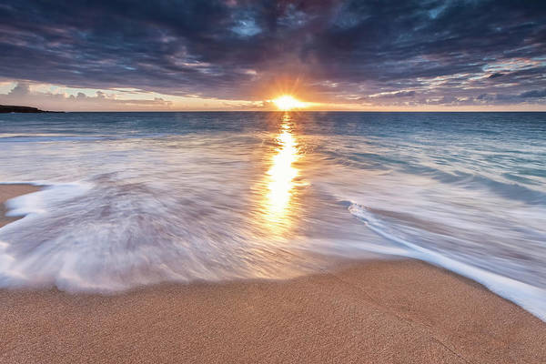 Wall Art - Photograph - Sunlight Reflected On The Ocean by Scott Mead