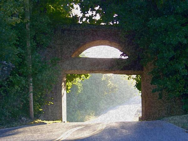Painting - Sunlit Bridge by Dennis Buckman
