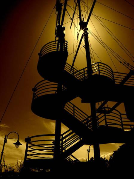 Photograph - Sunlit Mast by Micki Findlay
