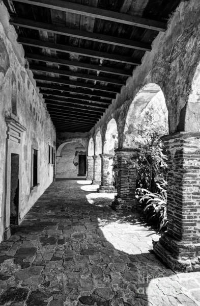 Photograph - Sunny California Arches 4 Bw by Mel Steinhauer
