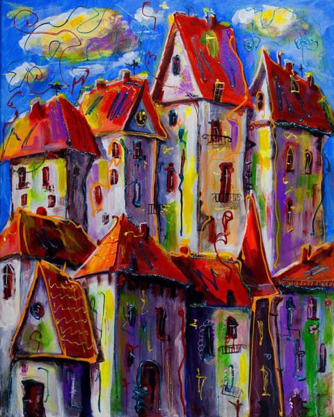 Painting - Sunny City by Maxim Komissarchik