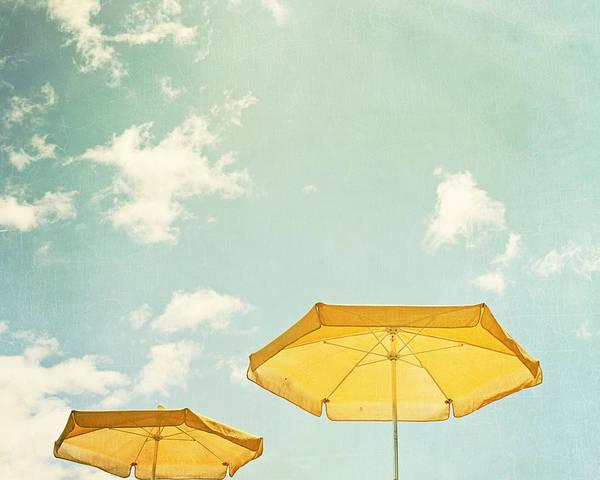 Beach Photograph - Sunny Day by Carolyn Cochrane