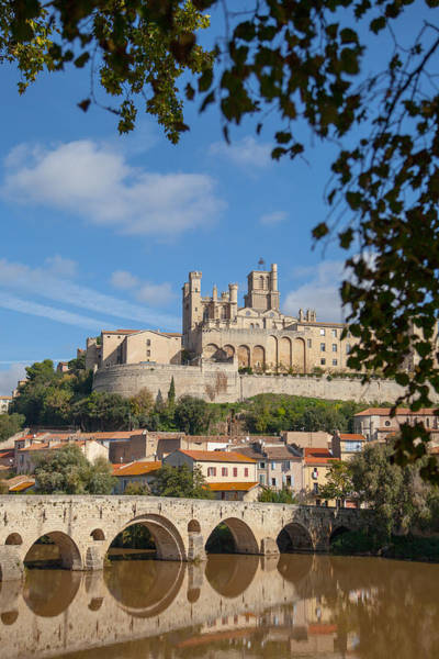 Wall Art - Photograph - Sunny Day In Beziers France by W Chris Fooshee