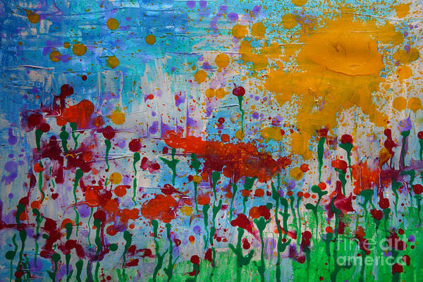 Painting - Sunny Day by Jacqueline Athmann